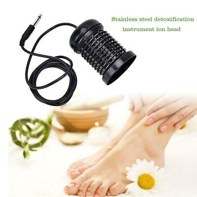 Stainless Steel Detox Foot Bath Arrays Aqua Spa Foot Massage Relief Tool Black