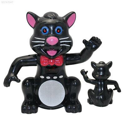 1CCA Portable USB Cat Micro TF Card Player Stereo Speaker for Phone PC MP3 Black