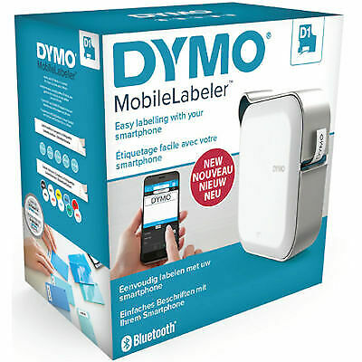 New  Dymo Mobilelabeler 24 Mm Label Maker With Bluetooth Smartphone Connectivity