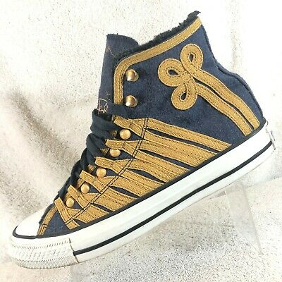 1bedf3cf91e3 Converse Jimi Hendrix Hi Top All Star Chuck Taylor Basketball Sneakers Men s  8