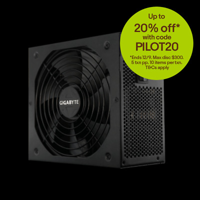New  Gigabyte G750h 750W Atx Psu Power Supply 80+ Gold > PSG-G750H
