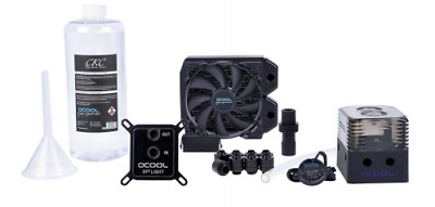 New  Alpha Cool Eissturm Gaming Copper 30 1X120mm - Complete Kit 1014255