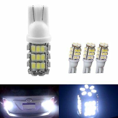 10pcs Warm White T10 921 194 RV Trailer 42 SMD 12V Backup Reverse LED Light Bulb