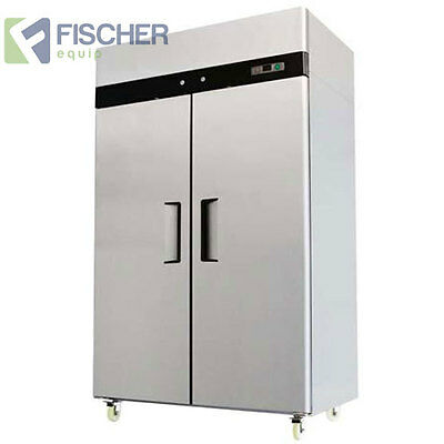 """Brand New"" 1300L Commercial S/Steel Freezer - Embraco Compressor - Mbf02-Ss"