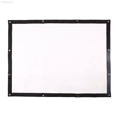 B752 Lightweight Projector Curtain Projection Screen Indoor 60inch PVC HD