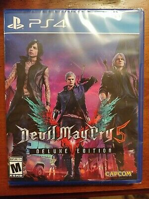 PS4 Devil May Cry 5 Deluxe Edition Sony PS4 Brand New