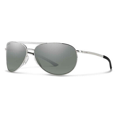 158cd0f0bf27d Smith Optics Serpico Slim 2 Sunglass Silver ChromaPop Polarized Platinum -