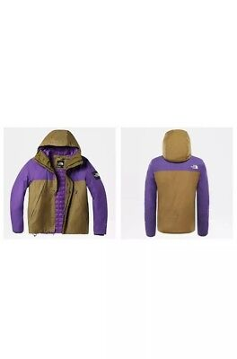 93d06c22d GIACCA THE NORTH Face mountain jacket 1990 thermoball verde viola ...