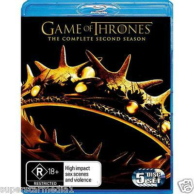 Game Of Thrones SEASON 2 : NEW Blu-Ray