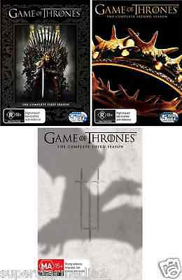 Game Of Thrones SEASON 1, 2 & 3 : NEW DVD