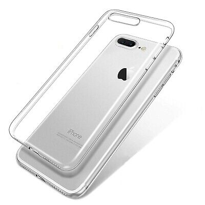 Funda de gel TPU carcasa silicona para Apple Iphone 7 Plus Transparente
