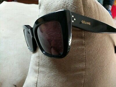 5a7a5ef336 CELINE CL 41039/S 807BN Black Sunglasses Made in Italy Authentic ...