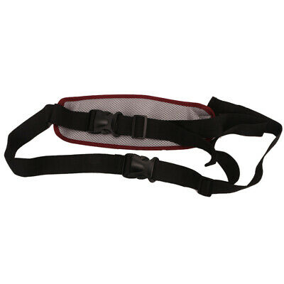 Rose Red Durable Adjustable Motorcycle Safety Harness Belt Riding Tool  CUP