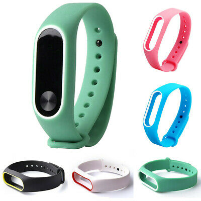 Replacement Silica Gel Wristband Band Strap For Xiaomi Mi Band 2 Bracelet Watch