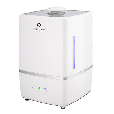 PureMate 5L Ultrasonic Cool & Hot Mist Humidifier with Ioniser & Aroma Diffuser
