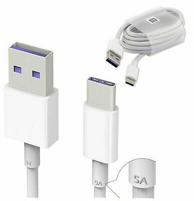 Genuine USB-C Cable Charger Fast Charging Type C For Huawei P30 PRO P20 Lite Pro