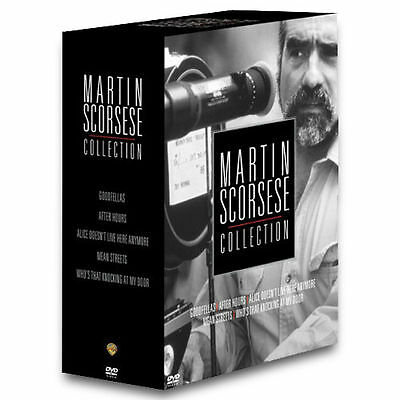 MARTIN SCORSESE COLLECTION -DVD 5 Films After Hours Mean Streets Goodfellas