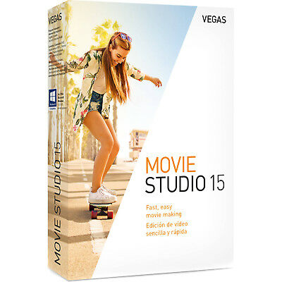 VEGAS Movie Studio 15 Software DIGITAL KEY