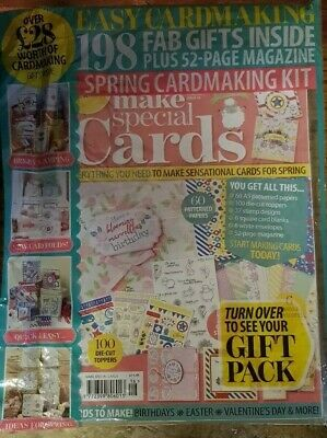 Make Special Cards magazine #16 Feb 2019 +FREE GIFTS