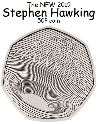 STEPHEN HAWKING * FREE POSTAGE * 2019 50p Pence Coin BUNC PRE ORDER