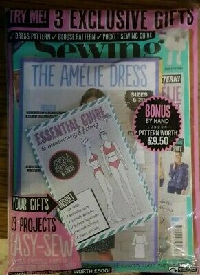 Simply Sewing magazine #53 2019 Dress & Blouse Pattern, Pocket Sewing Guide