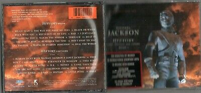 Michael Jackson-History 2 Cd's (Billie Jean/bad/rock With You/remember The Time)