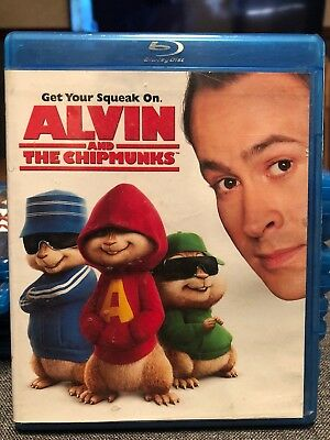 Alvin and the Chipmunks (Blu-ray Disc, 2009) Family Children's