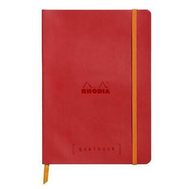 """Carnet d'organisation """"Goalbook"""" - A5 - 240 pages - Dot - Coquelicot"""