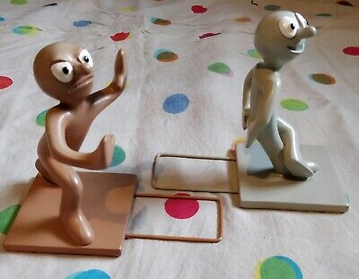 Morph and Chas Bookends Collectable Novelty
