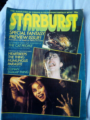 Starburst issue 47 - The Cat People, The Thing, Conan