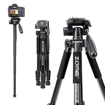 ZOMEI Light Weight Aluminum Tripod Monopod Travel For Canon Nikon DSLR Camera