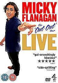 Micky Flanagan Live! The 'Out Out Tour' Dvd Brand New & Factory Sealed