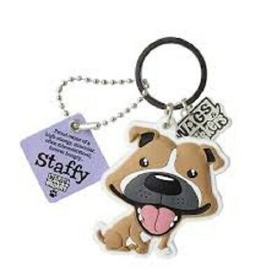 STAFFIE DOG PEWTER PIN BADGE MADE IN ENGLAND LOVELY GIFT FOR STAFFIE FANS