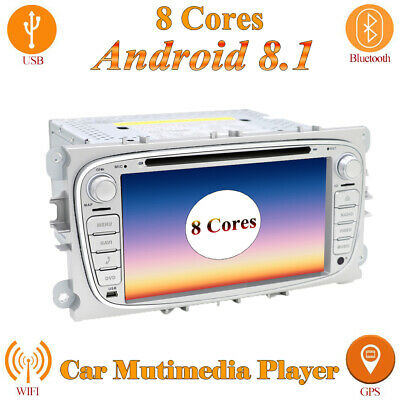 2G+32G Android 7.1 Car GPS Navi Autoradio 2 DIN Bluetooth AUX für Ford Focus Max