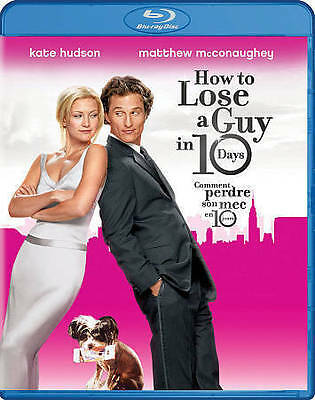 HOW TO LOSE A Guy In 10 Days NEW Blu-ray Kate Hudson FREE