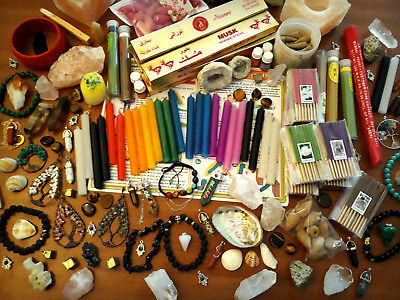 [LOT OF 14 - 16] Surprise Witchery Kit: Box Assorted Goods for Witchcraft |Wicca