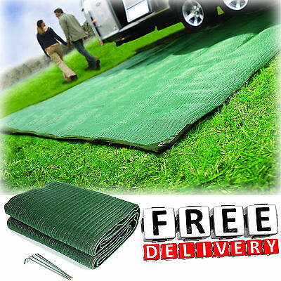 C&ing Reversible Mat 6x9u0027 Area Rug Trailer Outdoor Patio RV Accessories Awning & RV PATIO MAT 6x9 Reversible Outdoor Rug Camping Accessories Picnic ...