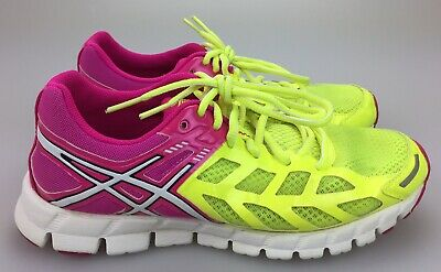 quality design 8515e 9241b Asics Gel Lyte 33 Running Shoes Women s Size 8 EUR 39.5 Pink Neon Yellow  T2H7N