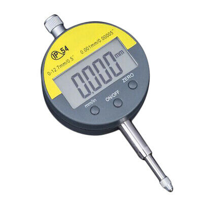 "Digital Dial Indicator Digimatic Indicator 0.01mm/0.0005"" 0-12.7mm Range"