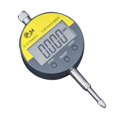 "Digital Dial Indicator Digimatic Indicator 0.001mm/0.00005"" 0-12.7mm Range"