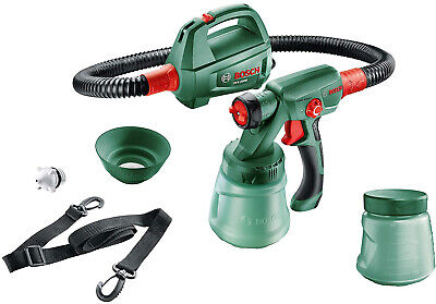 Paint Spray System PFS 2000 (440 Watt, for Wood Paint and Wall Paint, Shoulder