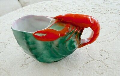 ~Pre~1891~Antique~Royal~Bayreuth~Lobster~Shell~Creamer!~