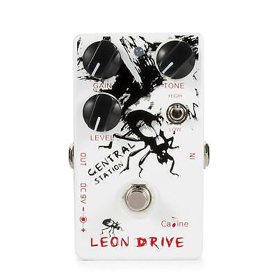 Caline CP-50 Leon Drive Overdrive / Distortion Guitar Effect Pedal New