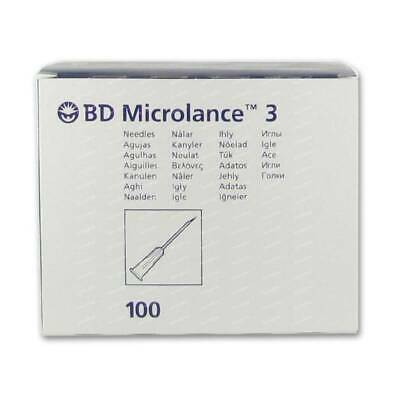 BD Microlance™ STERILE HYPODERMIC NEEDLES INJECTION CYCLE SIZE BECTON DICKINSON