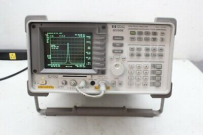 HP Agilent 8596E Spectrum Analyzer Calibrated Customize your options ! 12.8 ghz