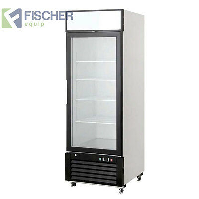 """Brand New"" 590L Commercial Glass Door Freezer - Embraco Compressor - Bcfo1-Gl"