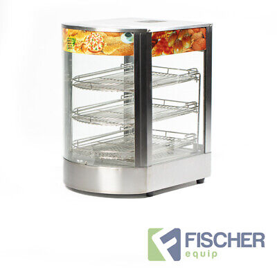 """""""Brand New"""" Commercial Food Pie Warmer Hot Display Showcase Cabinet  - Wd1"""