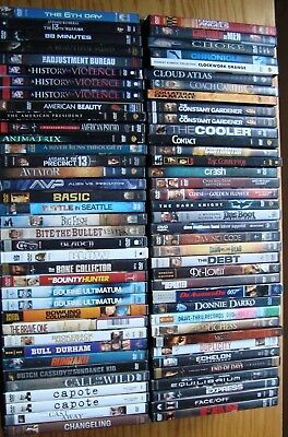 DVDs YOU CHOOSE, Save on Shipping -- Action/Drama/Sci-Fi/Thriller -- Over 200