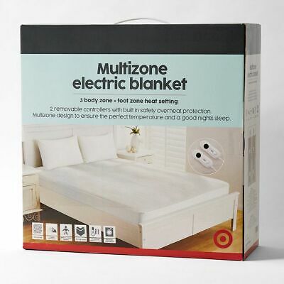 NEW Multizone Fitted Electric Blanket