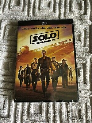 Solo: A Star Wars Story DVD 2018 Disney Movies Brand New Unopened!